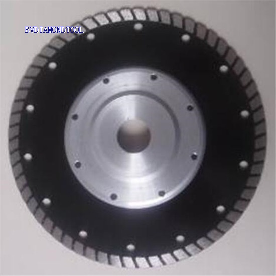 Wide Teeth Turbo Blades For Granite Sandstone and Concrete