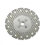 Electroplated Diamond Blade Single Side Lattice Site Coated and Cooling Hole