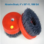 4Inch Round Abrasive Brush Antiquing Brush