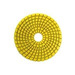 Diamond resin polishing pad for grinder